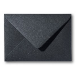 Envelop - Roma - 12 x 18  cm - 50 stuks - Metallic  Donker grijs