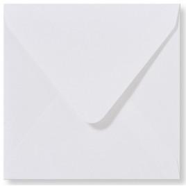 Envelop - Roma - 14 x 14  cm - 50 stuks - Metallic  Extra Wit