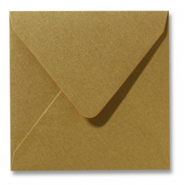 Envelop - Roma - 14 x 14 cm - 50 stuks - Metallic Gold