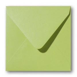 Envelop - Roma - 14 x 14 cm - 50 stuks - Metallic Curacoa