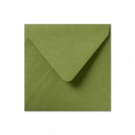 Envelop - Roma - 14 x 14 cm - 50 stuks - Metallic Green