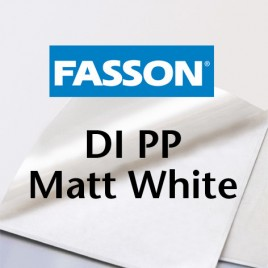 Fasson Laser DI PP Matt White, SRA3, Zonder splitten, Verwijderbaar - 100 vel