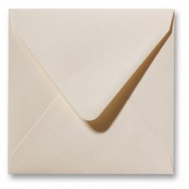 Fiore enveloppen - 12 x 12 cm - 120 g/m2 - ivoor