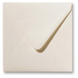 Fiore enveloppen - 14 x 14 cm - 120 g/m2 - gebroken wit