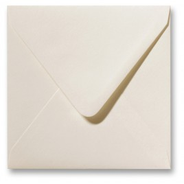 Fiore enveloppen - 16 x 16 cm - 120 g/m2 - gebroken wit