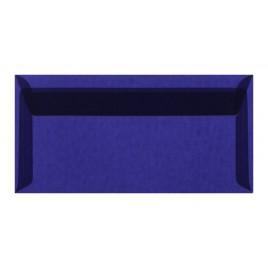 Transparant lichtblauw striplock 11 x 22 cm -  pak 50 st.