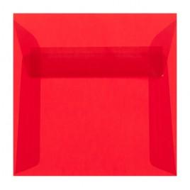 Transparant  - Oranje - striplock 22 x 22 cm -  pak 50 st.