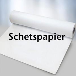 Schets- en Tekenpapier - rol 35 cm - Transparant