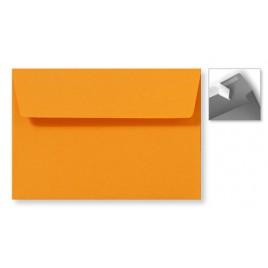 Envelop Striplock 12,6 x 18 cm - Zachtblauw  - 120 GM - Rechte klep - Striplock