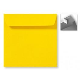 Envelop Striplock 16 x 16 - Koraalrood - 120 GM - Rechte klep - Striplock