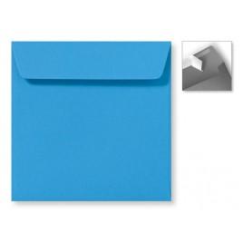Envelop Striplock 16 x 16 - Koningsblauw - 120 GM - Rechte klep - Striplock