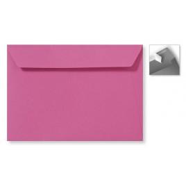 Envelop Striplock 22 x 31,2 cm  - Metallic silver pearl  - 120 GM - Rechte klep - Striplock