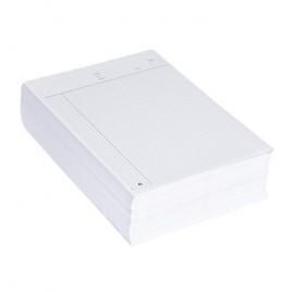 Proefwerkpapier zonder naam - A4 - Gelijnd - 70 G/M2 - 1000 vel