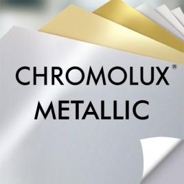 Chromolux Metallic, FSC  Silver - 250 G/M2 - SRA3 - 100 vel
