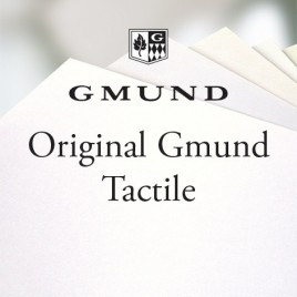 Original Gmund Tactile - 90 G/M2 - Wit - SRA3 - 250 vel