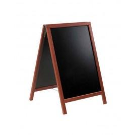 Krijtstoepbord MAHONIE bxh 75x135cm