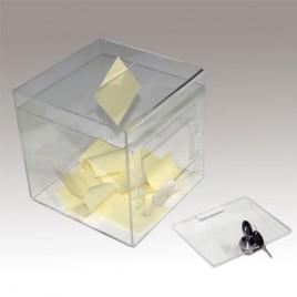 Ideeënbox / loterijbox Transparant