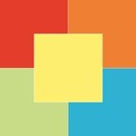 Mixpakket gekleurd papier