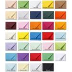 Gekleurde enveloppen - alle afmetingen